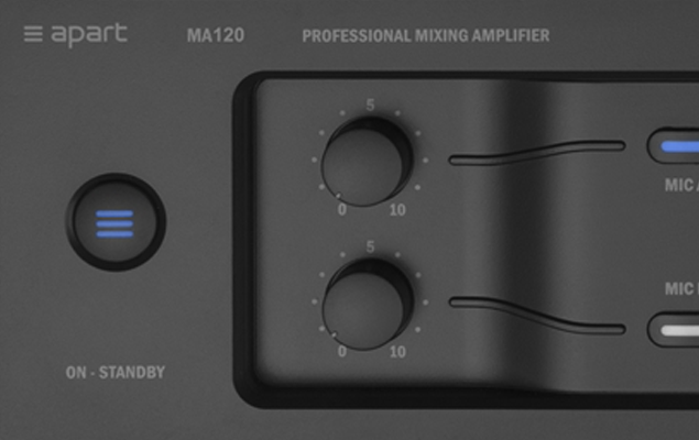 The revolutionary Apart MA Series mixing amplifiers