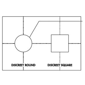 SONANCE AS DISCREET ROUTER TEMPLATE R/S 93057
