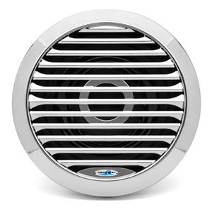 "AQUATIC AV 10"" MARINE SUBWOOFER CHROME AQSPK104LC"