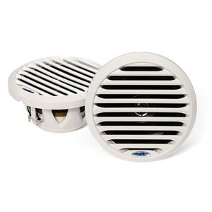 "AQUATIC AV 6.5"" MARINE COAXIAL SPEAKERS WHITE AQSPK654LW"