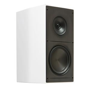"ELAC ADANTE 6.5"" STAND MOUNT SPEAKER WHITE HIGH GLOSS AS61GW"