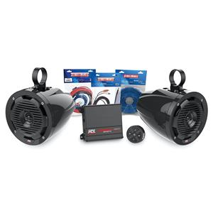 MTX 2 SPEAKER BLUETOOTH PACKAGE WITH AMPLIFIER