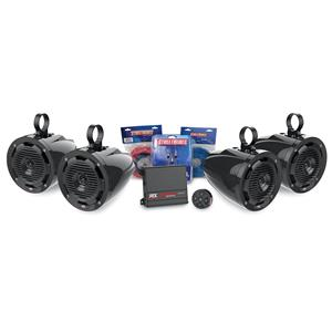 MTX 4 SPEAKER BLUETOOTH PACKAGE WITH AMPLIFIER