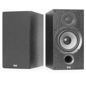"ELAC DEBUT 2.0 6.5"" BOOKSHELF SPEAKERS BLACK DB62BK"