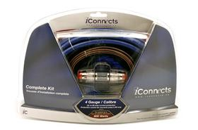 iCONNECTS 4 AWG 600W INSTALL KIT I4600K