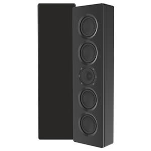 "ELAC MURO DUAL ACT 4"" DUAL  4"" SPEAKERS w/ TWEETER LCR BLK"