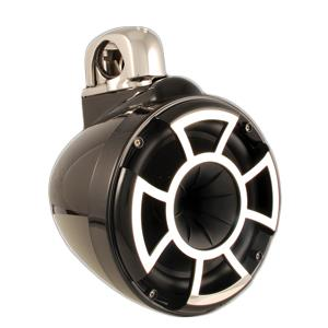 "WETSOUNDS REV 8"" TOWER SPEAKERS SWIVEL CLAMP BLACK REV8BSC"