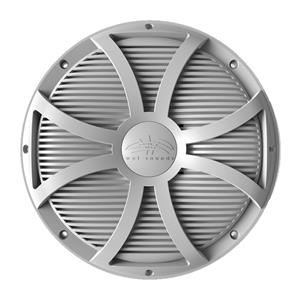 "WETSOUNDS WHITE SW CLSD GRILL FOR REVO 10""SUB REVO10SWWGRILL"
