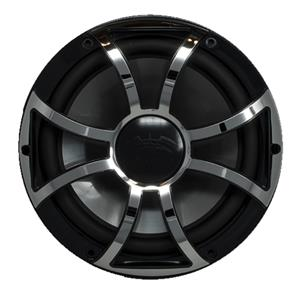 "WETSOUNDS BLK W/STNLS XS OPEN GRILL FOR REVO10"" SUB BSSGRILL"