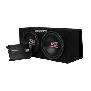MTX TERMINATOR DUAL 12 VENTED PARTY PACK + AMP