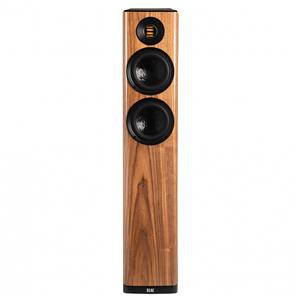 ELAC VELA FLOOR STANDING SPEAKERS GLOSS WALNUT VFS407GN